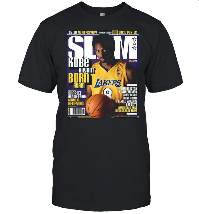 SLAM Kobe Bryant Born Again shirt Classic Men's T-shirt