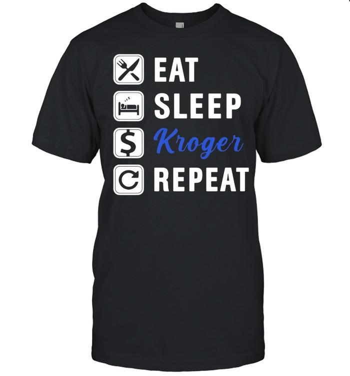 Eat Sleep KG Repeat T-shirt Classic Men's T-shirt