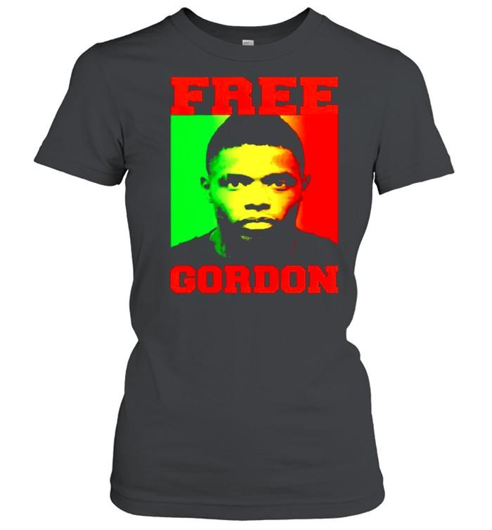 free gordon shirt classic womens t shirt
