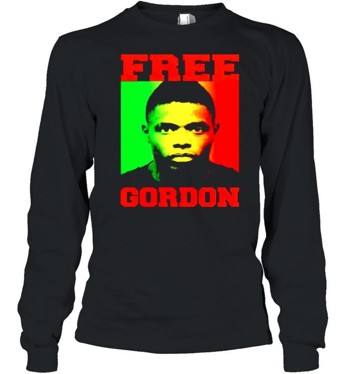 free gordon shirt long sleeved t shirt