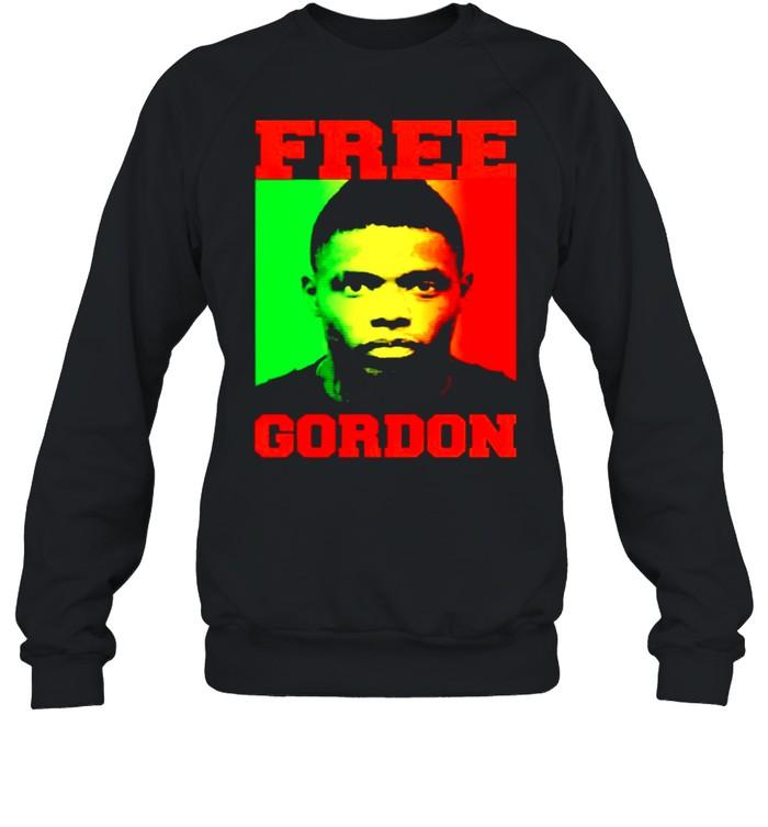 free gordon shirt unisex sweatshirt