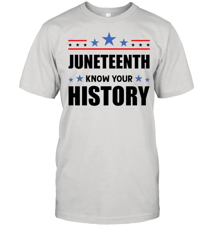 Juneteenth Know Your History – Black Lives Matter – Black Pride shirt Classic Men's T-shirt