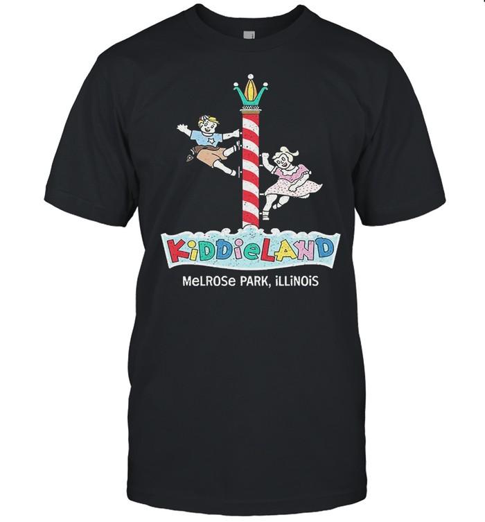 Kiddieland Melrose Park Illinois  Classic Men's T-shirt