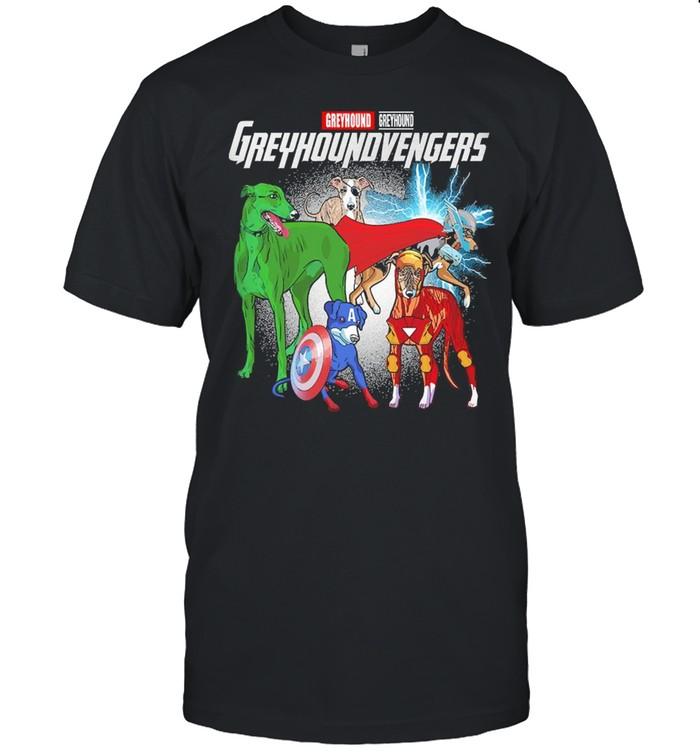 Marvel Greyhound Greyhound Vengers  Classic Men's T-shirt