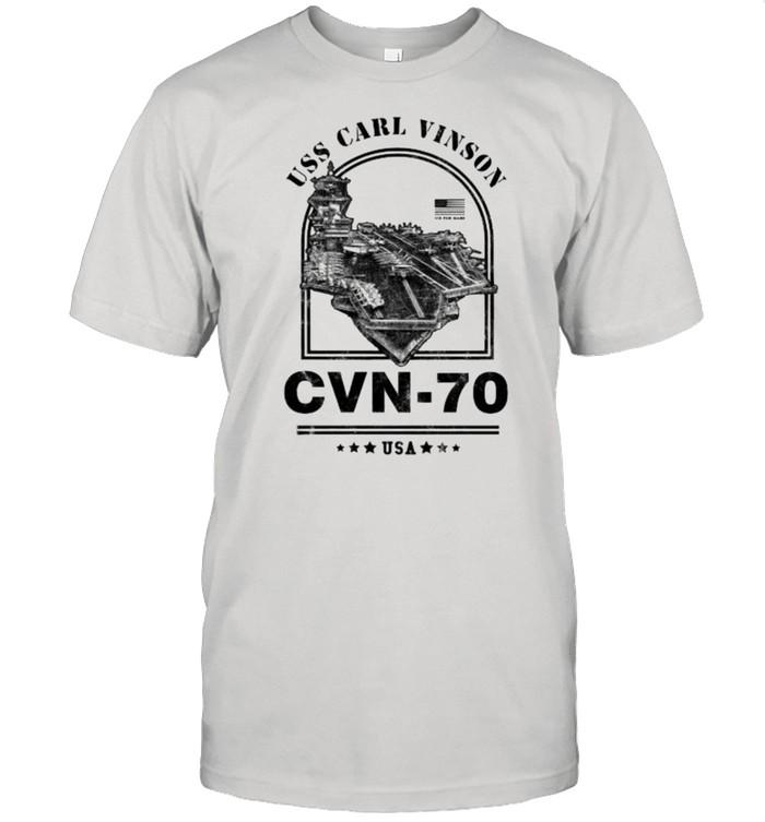 CVN-70 USS Carl Vinson shirt Classic Men's T-shirt