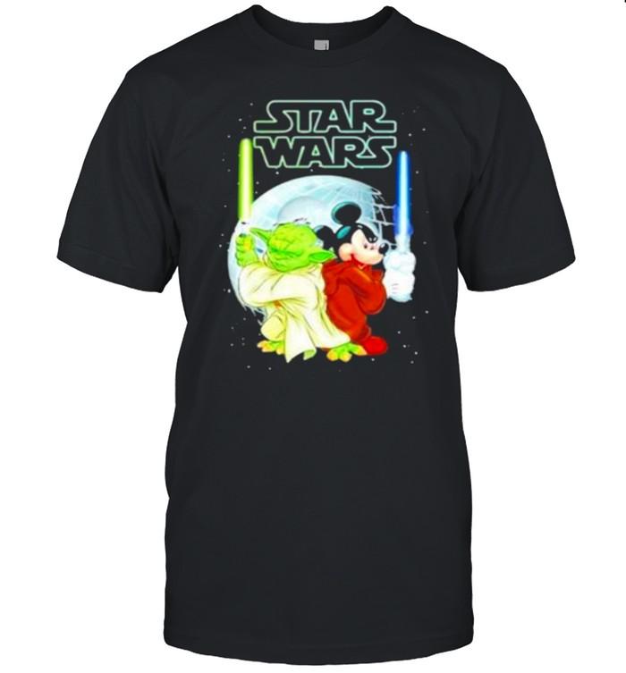 Master Yoda And Mickey Mouse Star Wars shirt Classic Men's T-shirt
