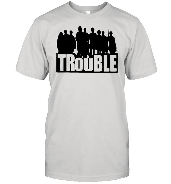 The Chosen Merch Store Trouble New 2021 T-shirt Classic Men's T-shirt