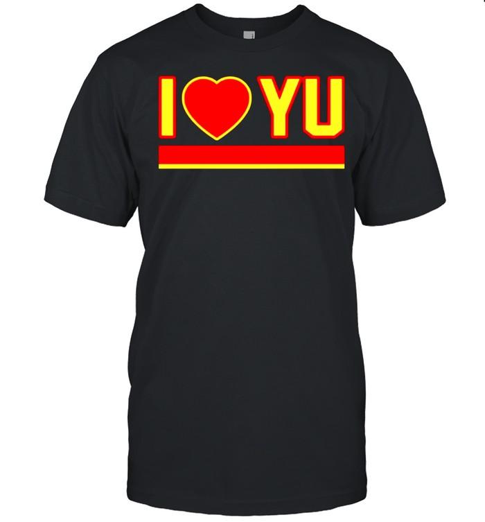 I love Yu shirt Classic Men's T-shirt