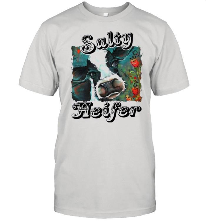Salty heifer shirt Classic Men's T-shirt