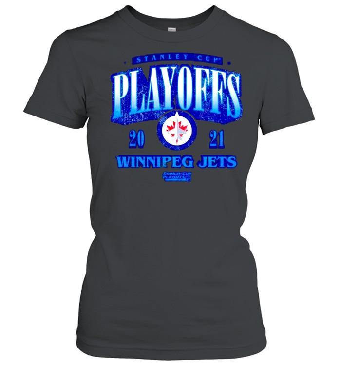 stanley cup playoffs winnipeg jets shirt classic womens t shirt