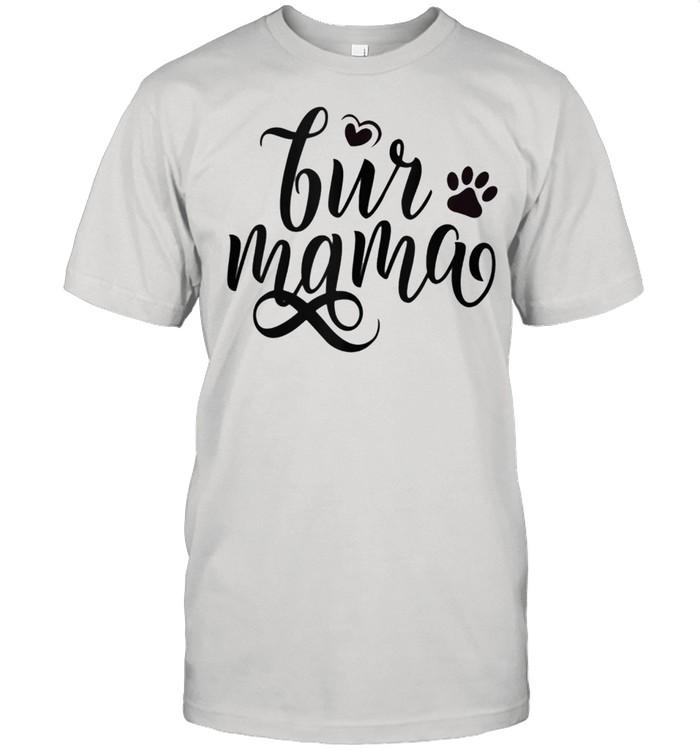 Fur Mama Paw Print Dog Cat Mommy Mom Momma Pet Owner shirt Classic Men's T-shirt