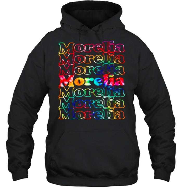 morelia mexico tie dye shirt unisex hoodie