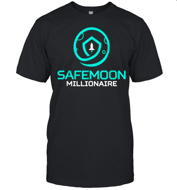 SafeMoon Milltionaire Cryptocurrency Crypto  Classic Men's T-shirt