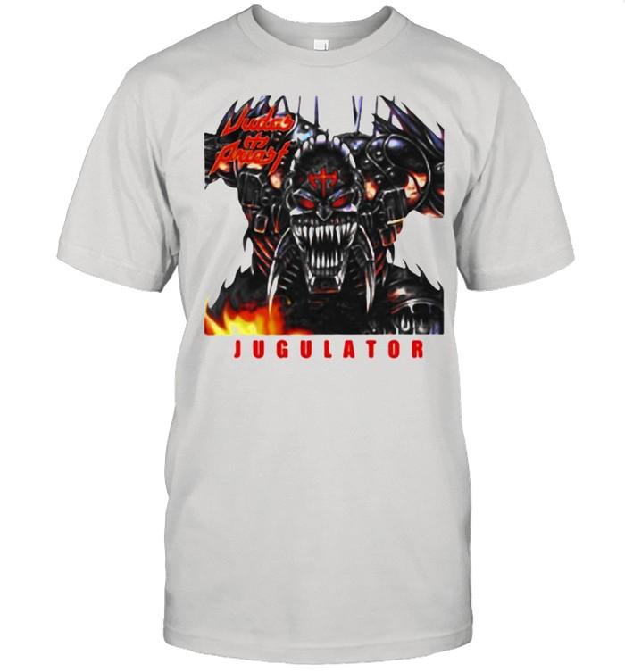 Judas priest Jugulator skull defenders of the faith shirt Classic Men's T-shirt