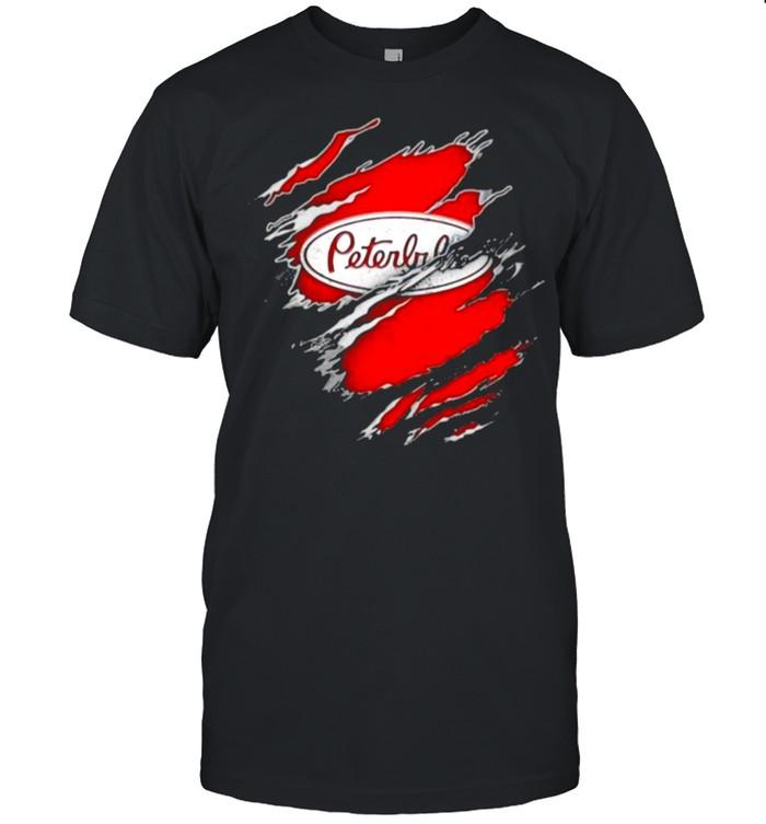 logo peterbilt wallpaper shirt Classic Men's T-shirt