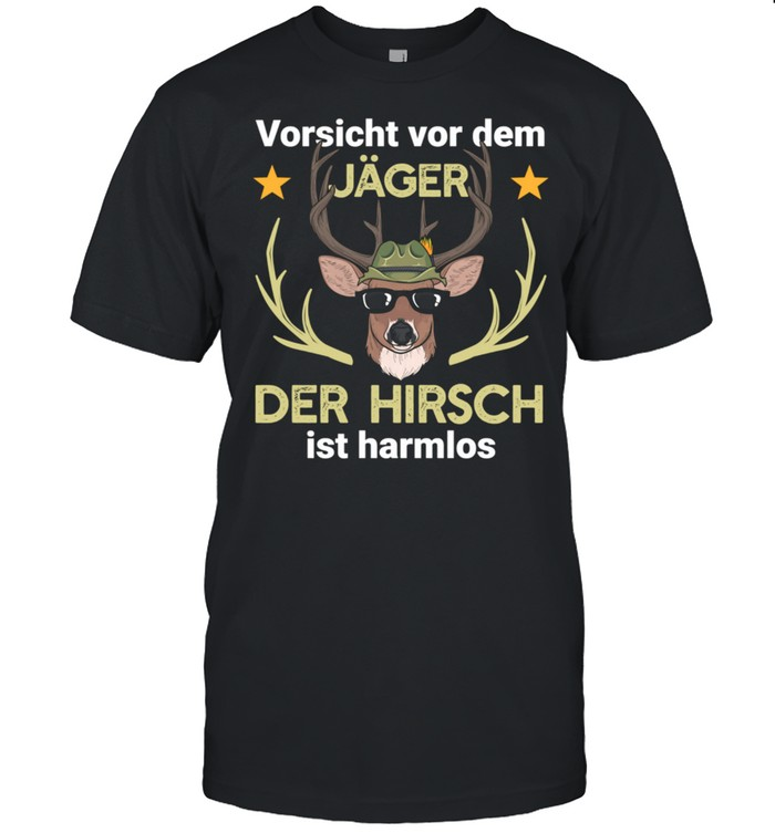 Hirsch Jäger Jagd Wald shirt Classic Men's T-shirt