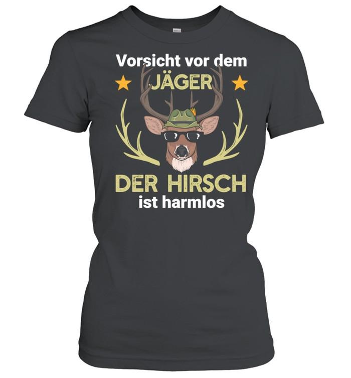 hirsch jger jagd wald shirt classic womens t shirt
