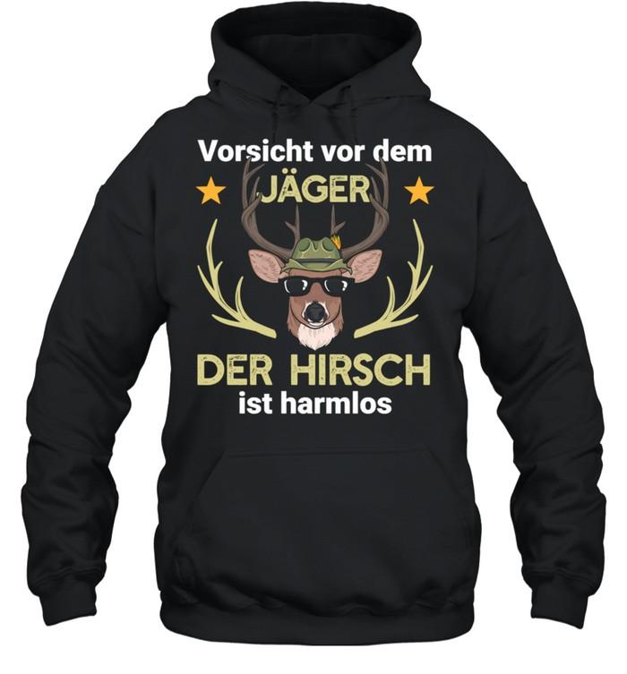 hirsch jger jagd wald shirt unisex hoodie