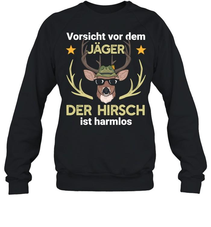 hirsch jger jagd wald shirt unisex sweatshirt