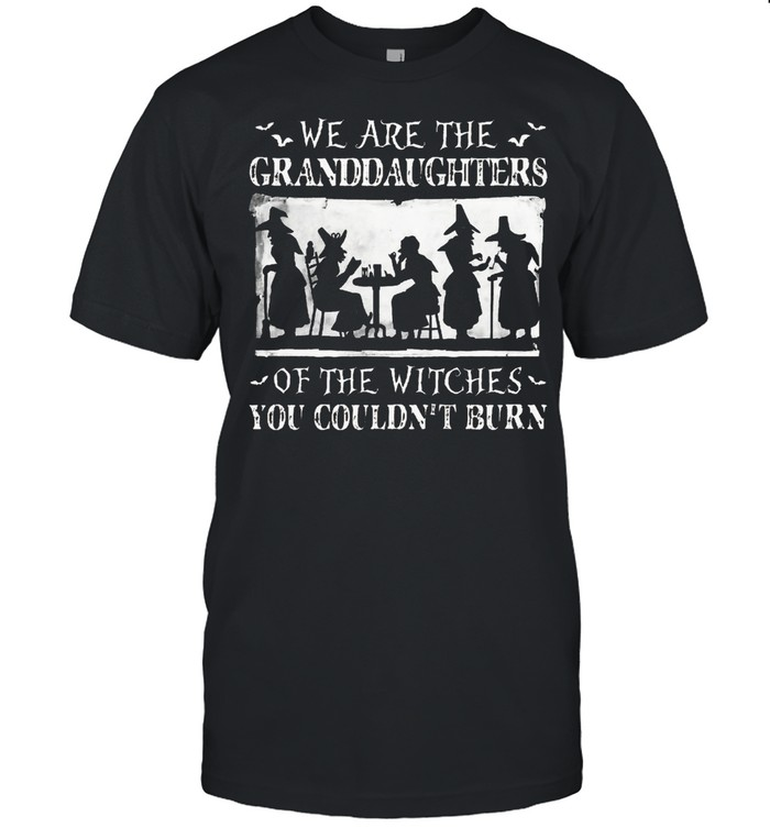 We are the granddaughters of the witches you couldnt burn shirt Classic Men's
