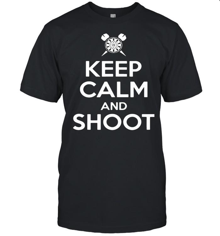Keep calm and shoot shirt Classic Men's T-shirt