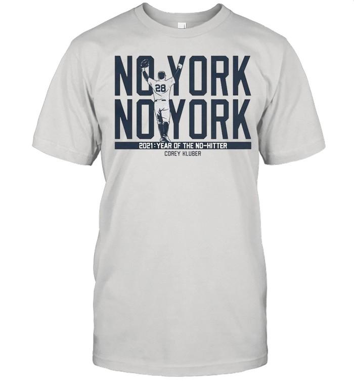 Corey Kluber no york 2021 year of the no-hitter shirt Classic Men's T-shirt