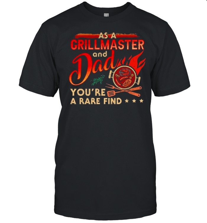 Hot Dog As A Grill Master And Dad You're A Rare Find shirt Classic Men's T-shirt