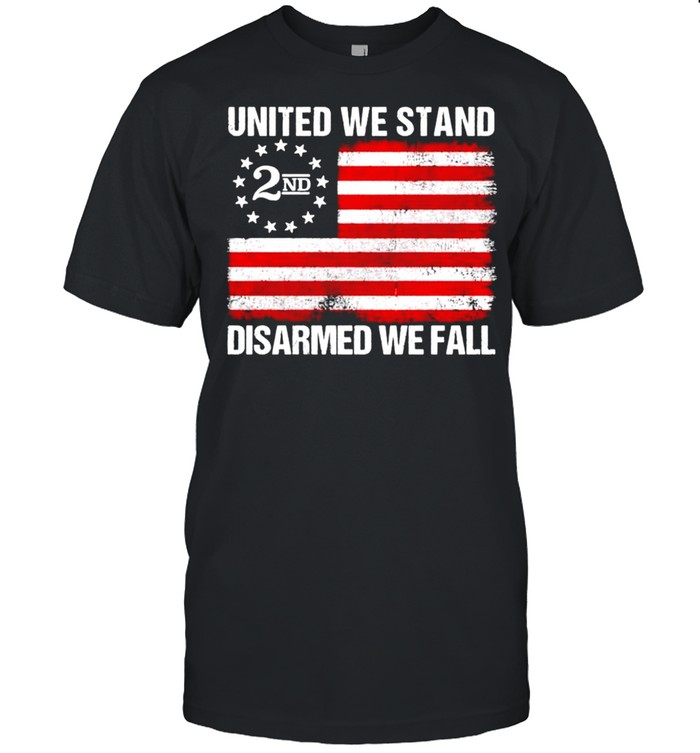 United We stand 2nd disarmed we fall shirt Classic Men's T-shirt