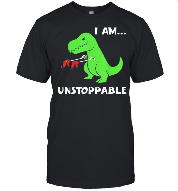 Dinosaur I am unstoppable shirt Classic Men's T-shirt