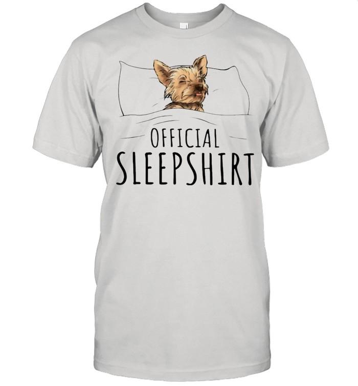 Yorkshire Terrier Official sleepshirt shirt Classic Men's T-shirt