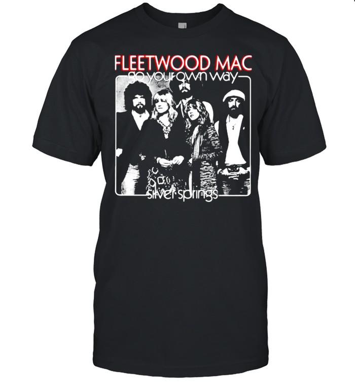 Fleetwood mac go your own way silver springs shirt Classic Men's T-shirt