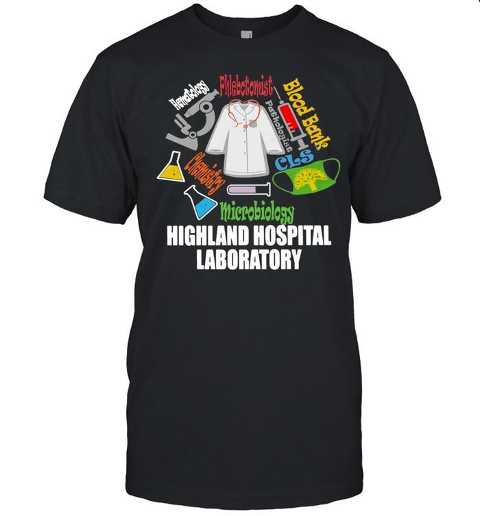 Blood Bank Microbiology Highland Hospital Laboratory T-shirt Classic Men's T-shirt