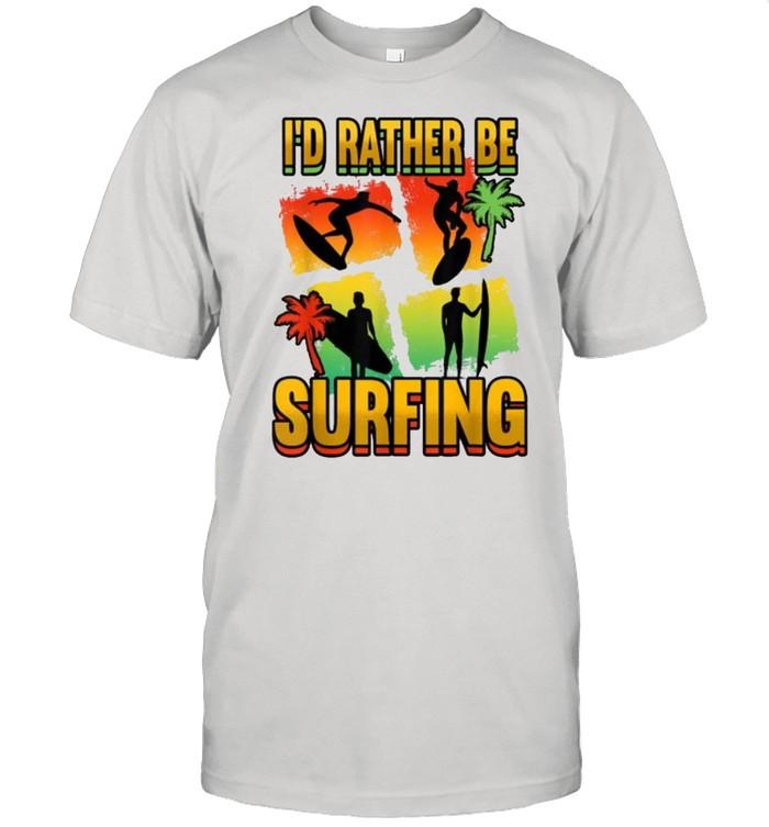 I'd Rather Be Surfing Kitesurfing T- Classic Men's T-shirt