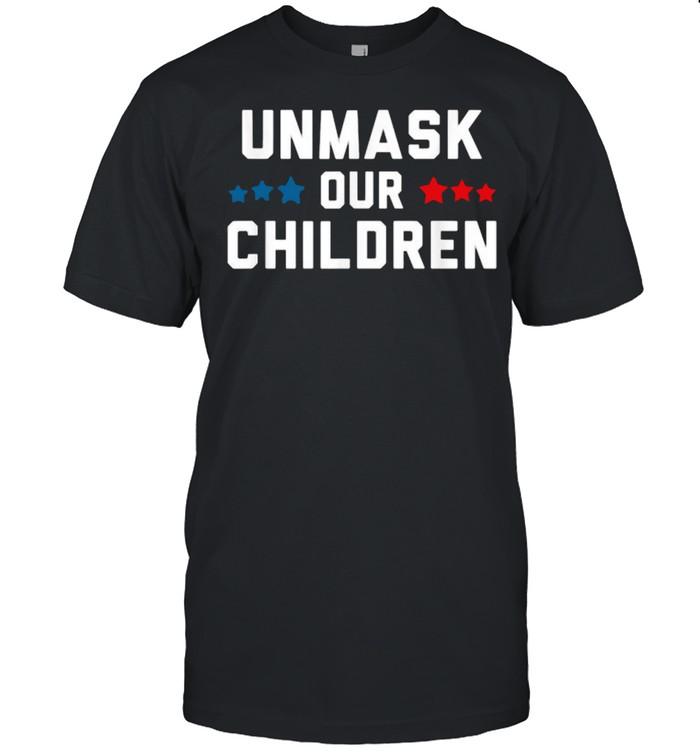 Unmask Our Children Election  Classic Men's T-shirt