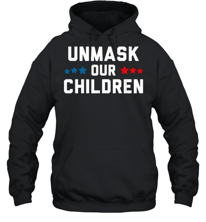 unmask our children election  unisex hoodie