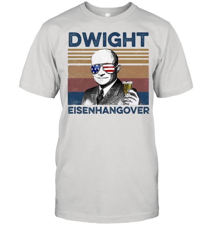 Dwight Eisenhangover Vintage shirt Classic Men's T-shirt