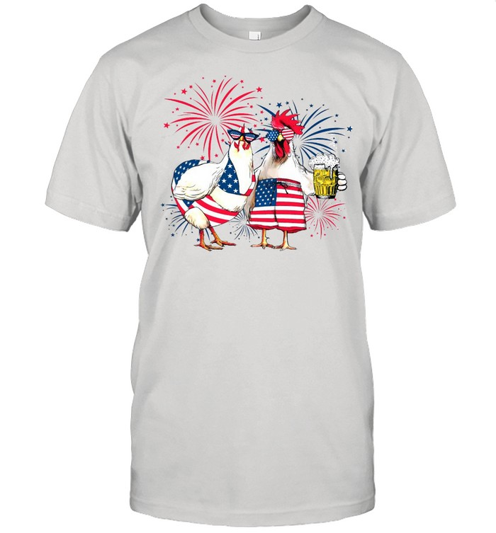 American Flag Turkey Independence Day 4th July T-shirt Classic Men's T-shirt