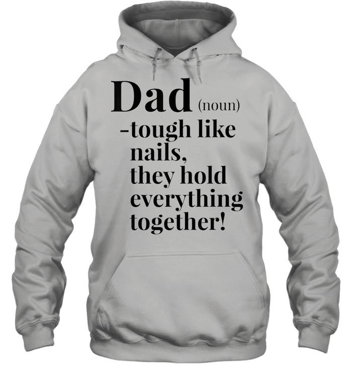 fathers days dad definition noun shirt unisex hoodie