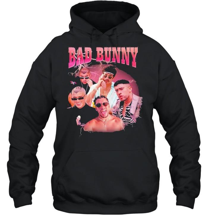 bad bunny shirt unisex hoodie