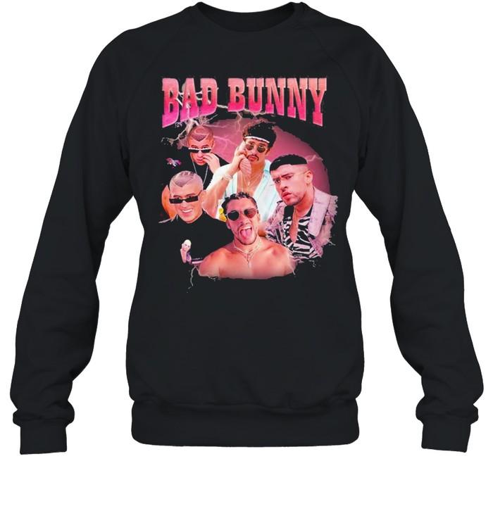 bad bunny shirt unisex sweatshirt