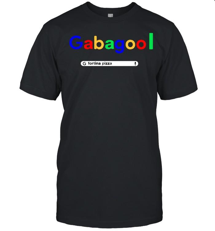 Gabagool google fortina pizza shirt Classic Men's T-shirt