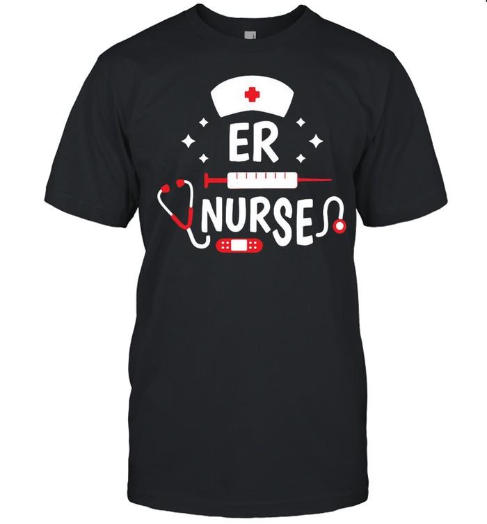 Emergency Room Registered Er Nurse Hospital Rn Staff T-shirt Classic Men's T-shirt