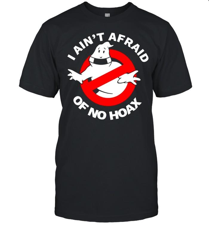 Ghost I aint afraid of no hoax shirt Classic Men's T-shirt