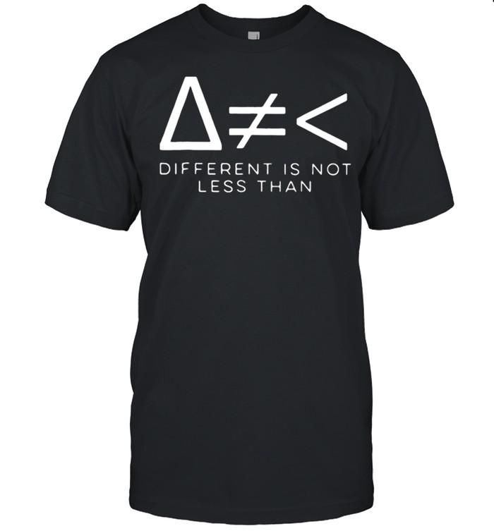 Different Is Not Math  Classic Men's T-shirt