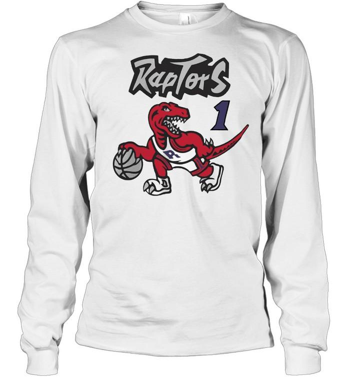 raptors t shirt Long Sleeved T-shirt
