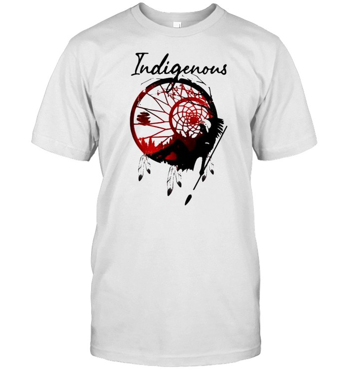 Girl Indigenous Native  Classic Men's T-shirt