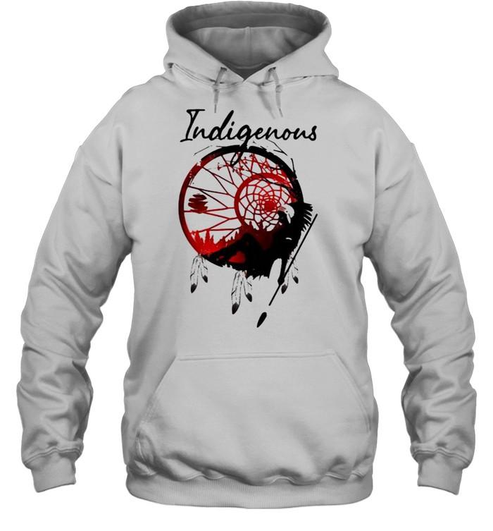 girl indigenous native  unisex hoodie