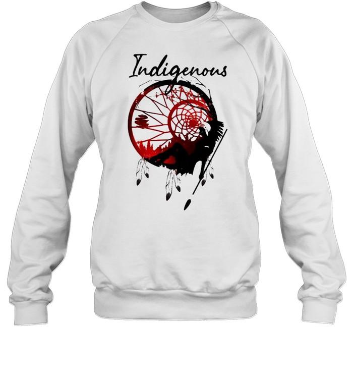 girl indigenous native  unisex sweatshirt