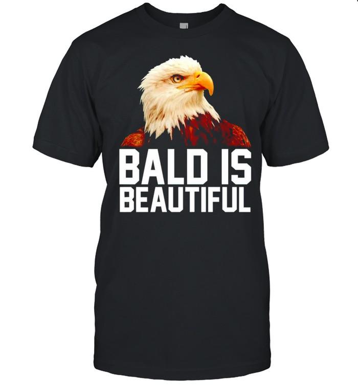 Eagle bald is beautiful shirt Classic Men's T-shirt
