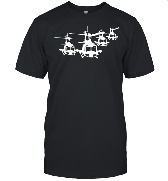 Huey Helicopter  Classic Men's T-shirt